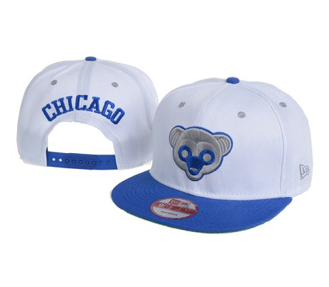 Chicago Cubs MLB Snapback Hat 60D4